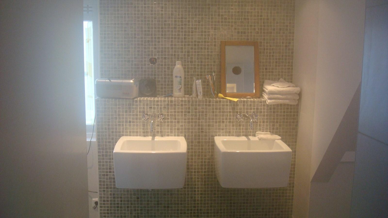 Badkamer renovatie afgerond bouwbedrijf kas - Badkamer renovatie m ...